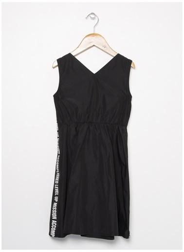 Funky Rocks Funky Rocks PP-06 Siyah Kız Çocuk Elbise Siyah